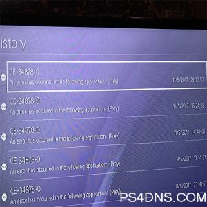 PS4 Error CE-34878-0 Fix - 2019 Solved - PS4DNS COM