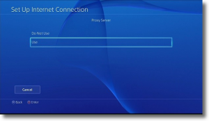 proxy server ps4 port 8080
