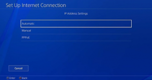 PS4 not connect to Internet