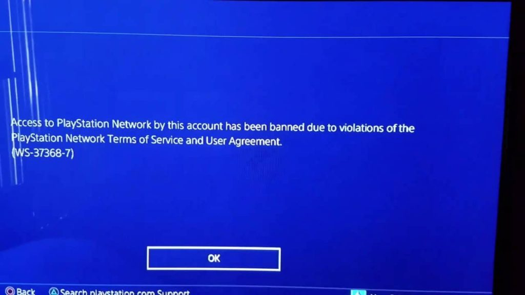 psn banned ws-37368-7