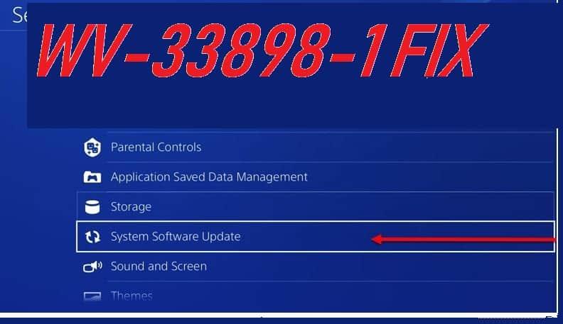 WV-33898-1 FIX