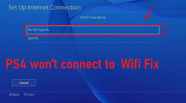 Solved: PS4 Won't Connect To WiFi Fix - 2019 - PS4DNS