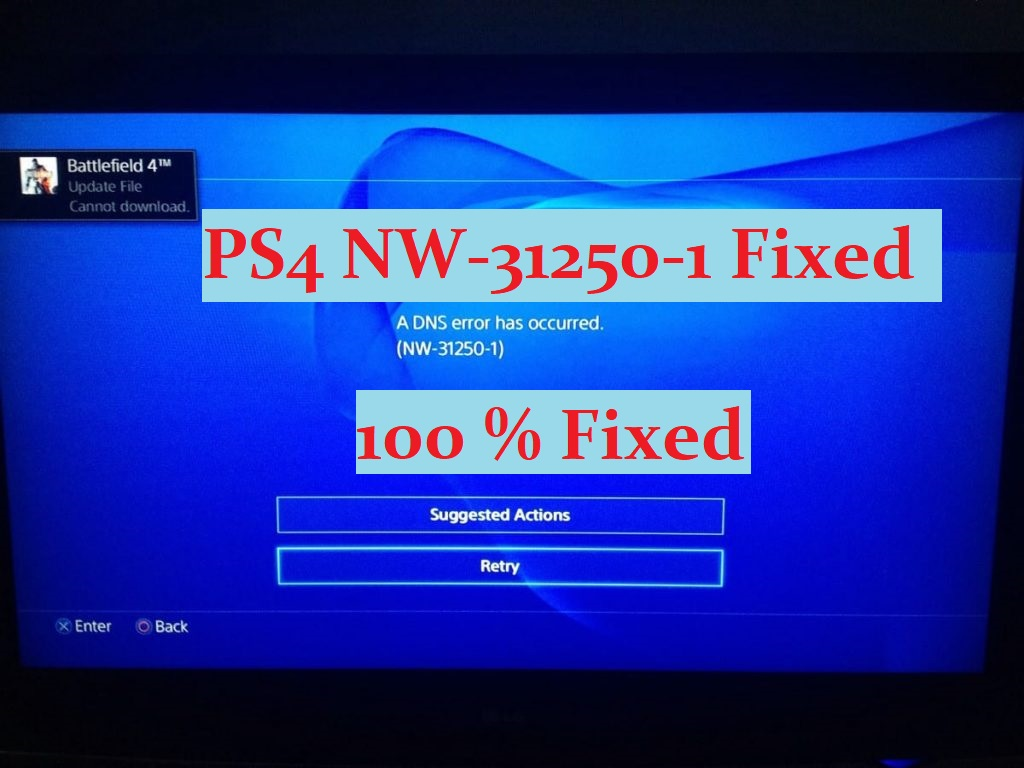 ps4 NW-31250-1 fixed