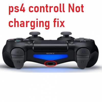 ps4 controller not charging fix