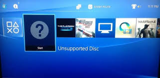 ps4 not reading disc