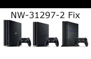 ps4 NW-31297-2 fix