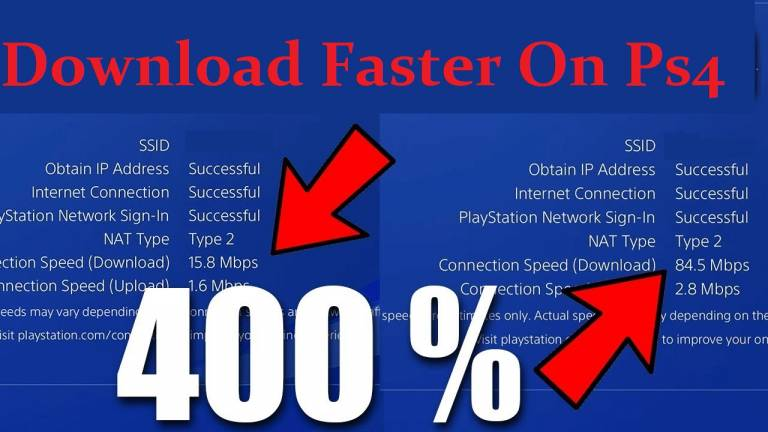 Download Games Faster On PS4
