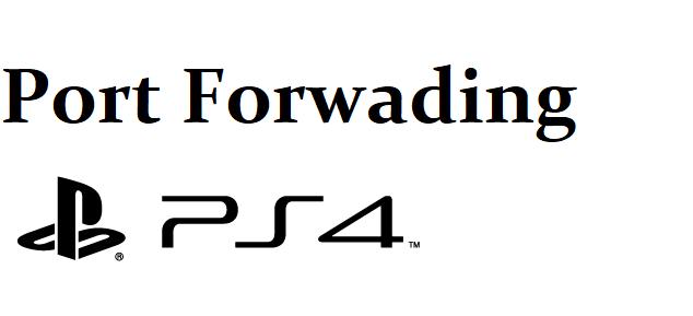 ps4 port forwarding