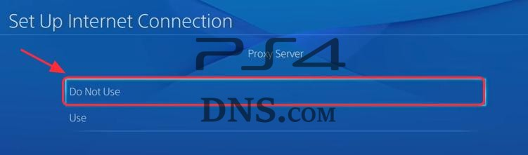 Set Up Internet proxy