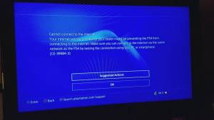 ps4 internet connection failed